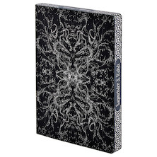 Nuuna Graphic L Recycled Leather Cover Notebook Beauty By Sagmeister & Walsh