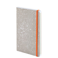 Nuuna Inspiration M Jeans Label Material Notebook Bloom