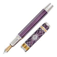 Onoto King's College Fountain Pen Xu Zhimo Sterling Silver Limited Edition