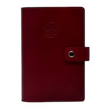Onoto Leather Organiser Maroon