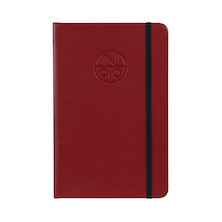 Onoto A5 Leather Notebook Claret