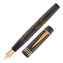Onoto The Loch Ness 18ct Gold Nib Fountain Pen Limited Edition