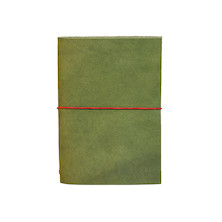 Paper Republic Grand Voyageur Leather Notebook (Passport Size) Green