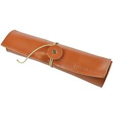Paper Republic Le Porte-Plume Leather Pen Case Cognac