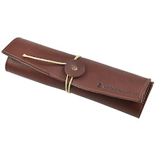 Paper Republic Le Porte-Plume Leather Pen Case Chestnut