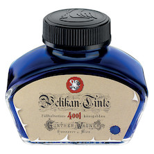 Pelikan 4001 Fountain Pen Historic Ink 62.5ml Bottle