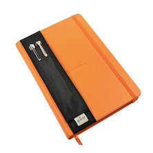 Quiver Synthetic Double Pen Holder for A5 Notebooks