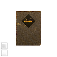 Rhodia Heritage Raw Bound Notebook Chevron A5