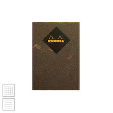 Rhodia Heritage Stapled Notebook Chevron A5