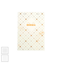 Rhodia Heritage Stapled Notebook Quadrille A5