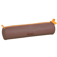 Rhodia Rhodiarama Pencil Case Chocolate