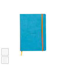Rhodia Rhodiarama Softcover Notebook A5 (148 x 210) Turquoise