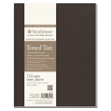 Strathmore 400 Toned Tan Sketch Art Journal Softcover 7.75x9.75
