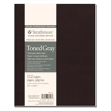 Strathmore 400 Toned Grey Sketch Art Journal Softcover 7.75x9.75