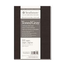 Strathmore 400 Toned Grey Mixed Media Art Journal Softcover 5.5x8
