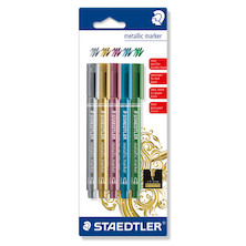 Staedtler Metallic Marker Pen Assorted Set of 5