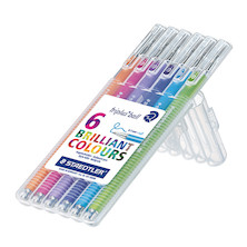 Staedtler Triplus Ball Pen Extra-Broad Assorted Set of 6