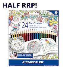 Staedtler Noris Colouring Pencil Johanna Basford 24 Piece Set