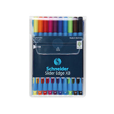Schneider Slider Edge XB Assorted Set of 10