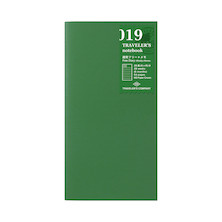 TRAVELER'S COMPANY Notebook Refill Perpetual Diary Weekly