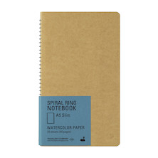 TRAVELER'S COMPANY Notebook Spiral Ring A5 Watercolour Paper