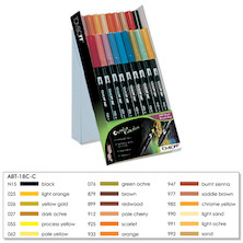 Tombow ABT Dual Brush Pen Set of 18
