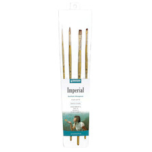 Princeton Imperial Syn Long Handle Professional Brush Set of 4