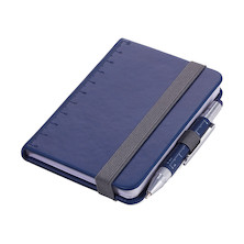 Troika Lilipad Notepad and Liliput Pen Dark Blue