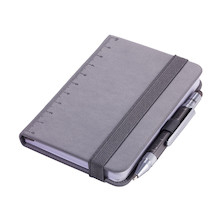 Troika Lilipad Notepad and Liliput Pen Dark Grey