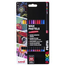 Uni POSCA Pastel Assorted Set of 12 Primary