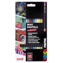Uni POSCA Pastel Assorted Set of 12 Neutral
