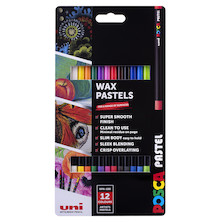 Uni POSCA Pastel Assorted Set of 12 Essential