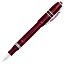 Visconti Homo Sapiens Demonstrator Stones Fountain Pen Dark Red Ruby