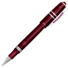 Visconti Homo Sapiens Demonstrator Stones Rollerball Pen Dark Red Ruby
