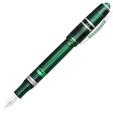 Visconti Homo Sapiens Demonstrator Stones Fountain Pen Dark Green Emerald