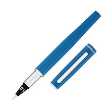 Yookers Yooth 751 Refillable Fibre Tip Pen Steel Blue 1.0mm