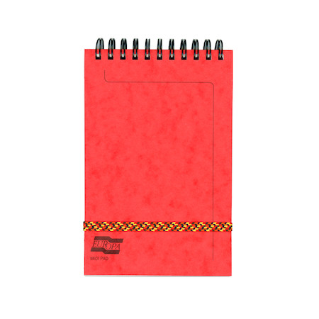 Clairefontaine Europa Midi Pad Wirebound Notepad (152 x 102)
