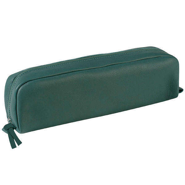 Clairefontaine Rectangular Leather Pencil Case