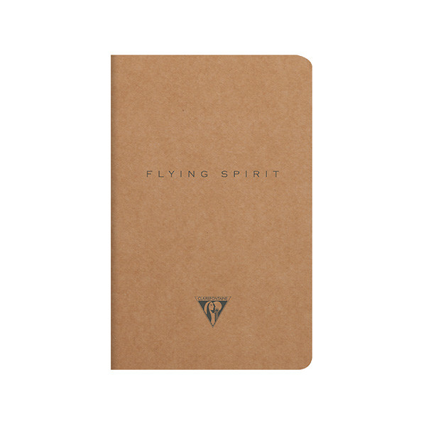 Clairefontaine Flying Spirit Notebook Kraft Cover 110x170