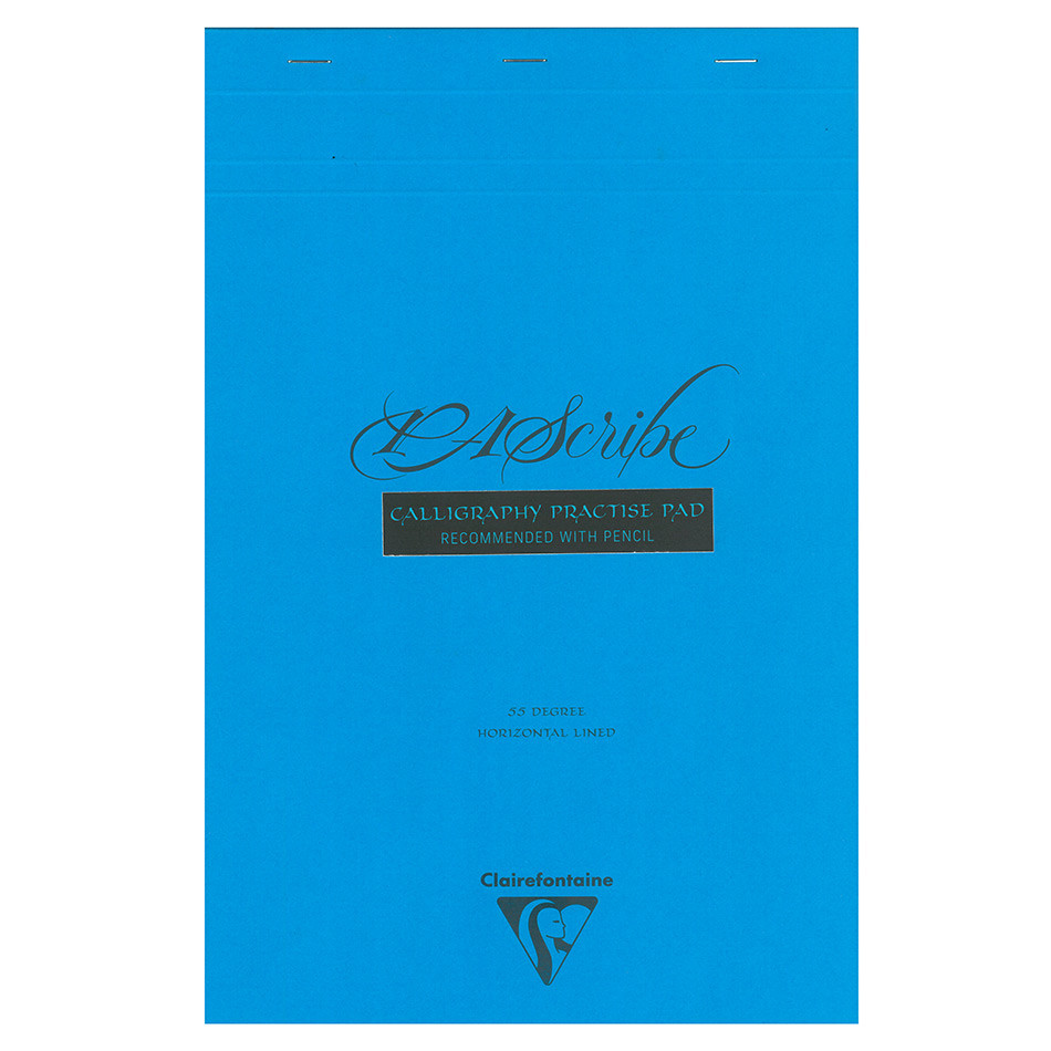 Clairefontaine PAScribe Calligraphy Pad White Brute A4+