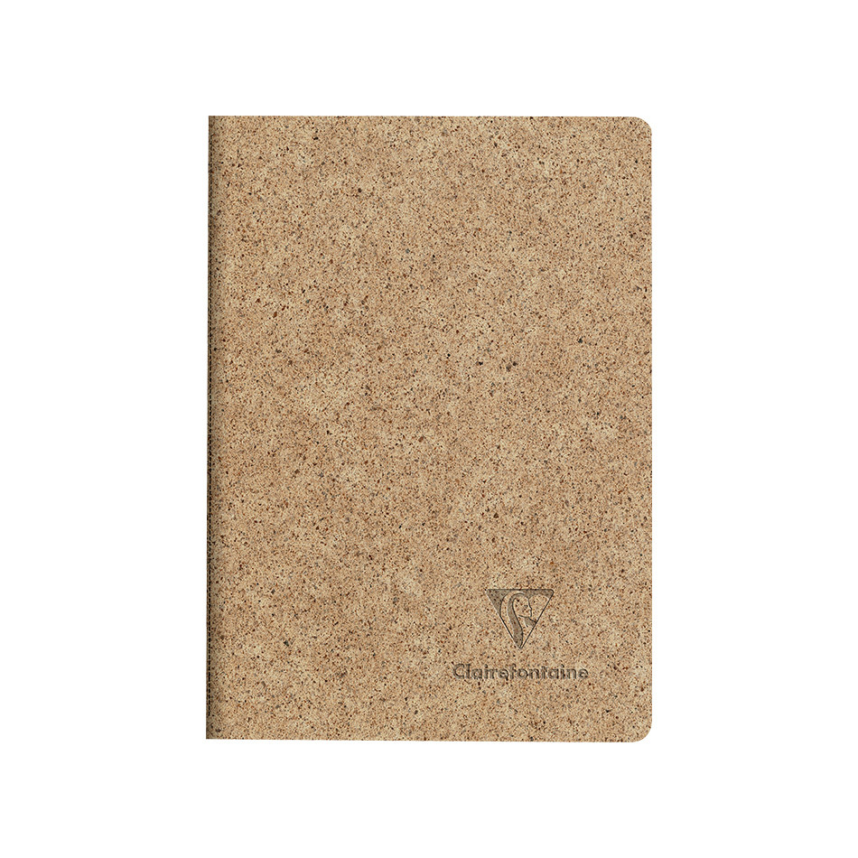 Clairefontaine Cocoa Stapled Notebook A6