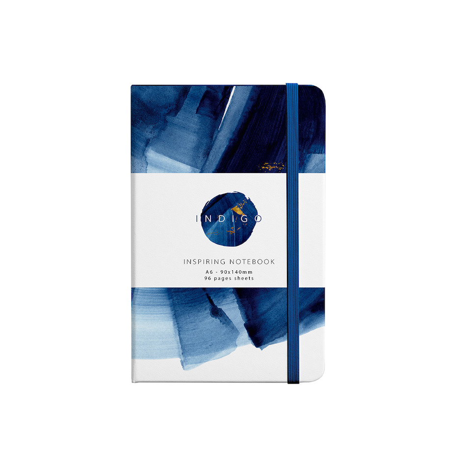 Clairefontaine Indigo Hardcover Notebook A6 Lined