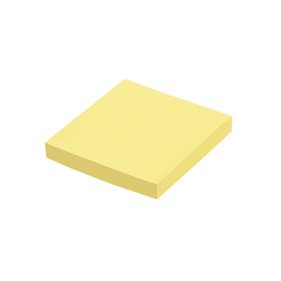 Post-it Recycled Notes Canary Yellow 76x76mm