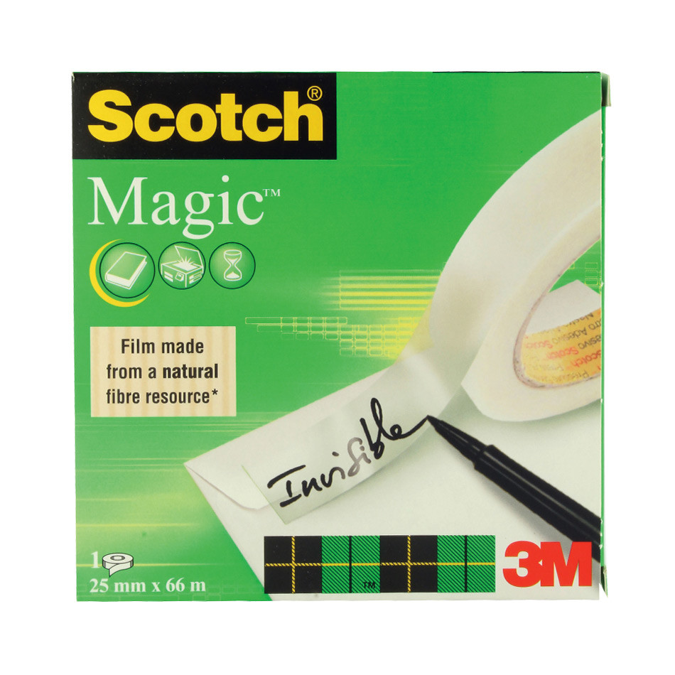 Scotch Magic Tape 25x66mm