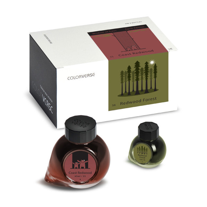 Colorverse Earth Edition 65ml+15ml Ink Set