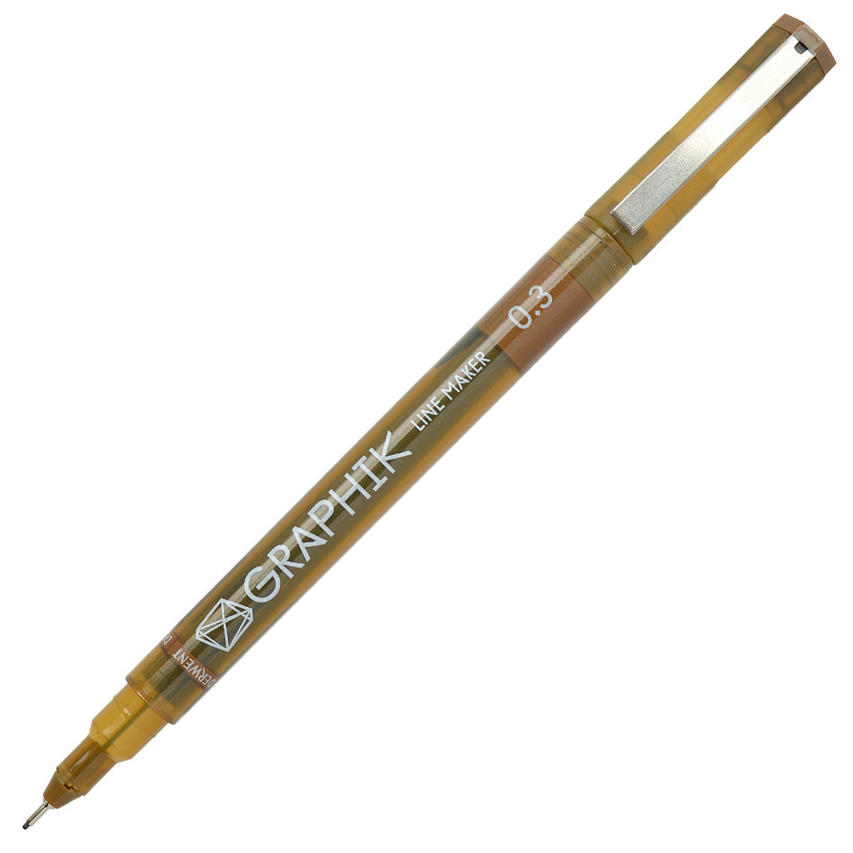 Derwent Line Maker Drawing Pen Sepia