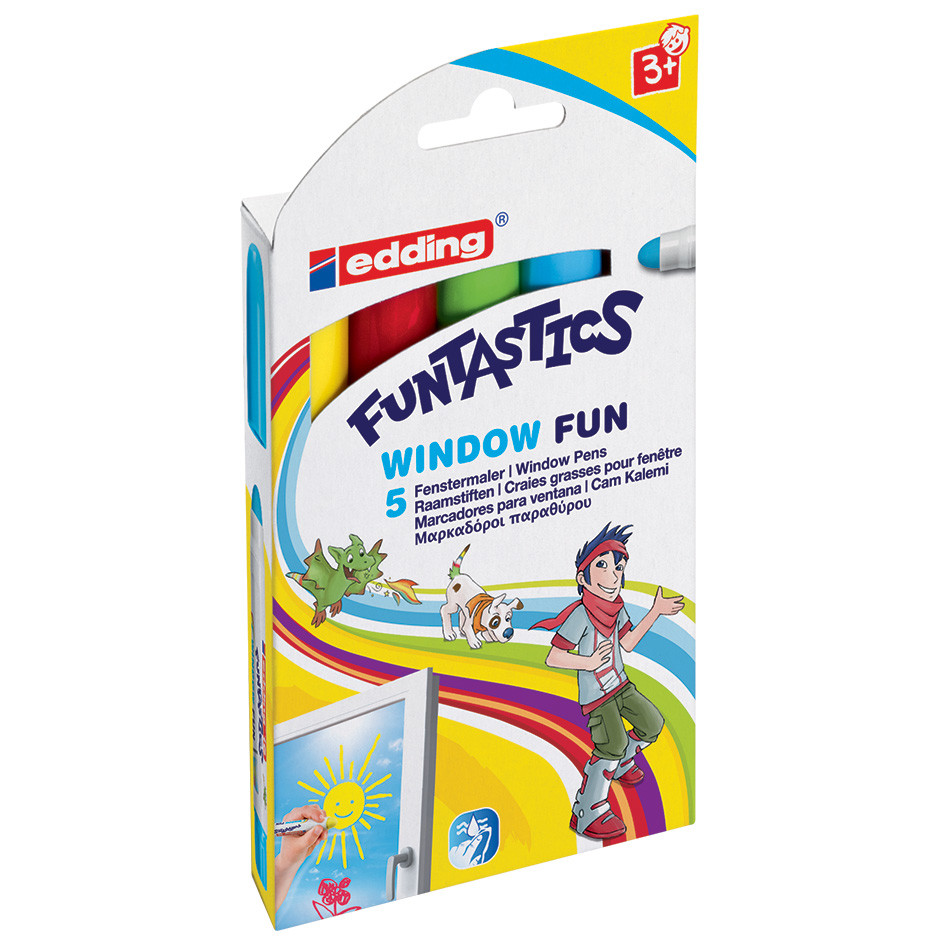 edding Funtastics Window Fun Set