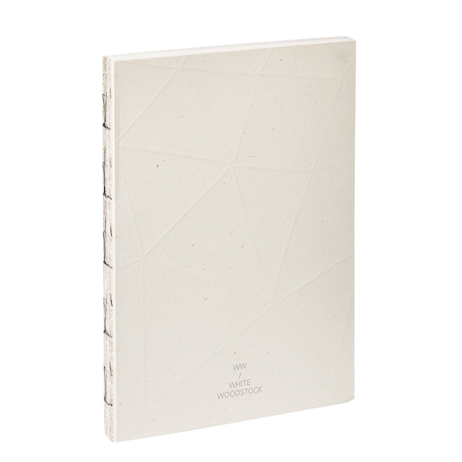 Fabriano White Woodstock A5 Notebook