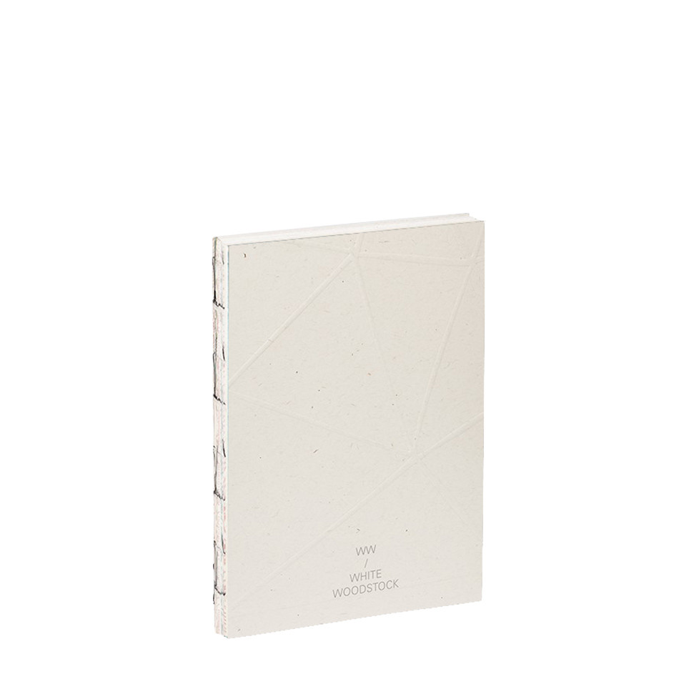 Fabriano White Woodstock A6 Notebook