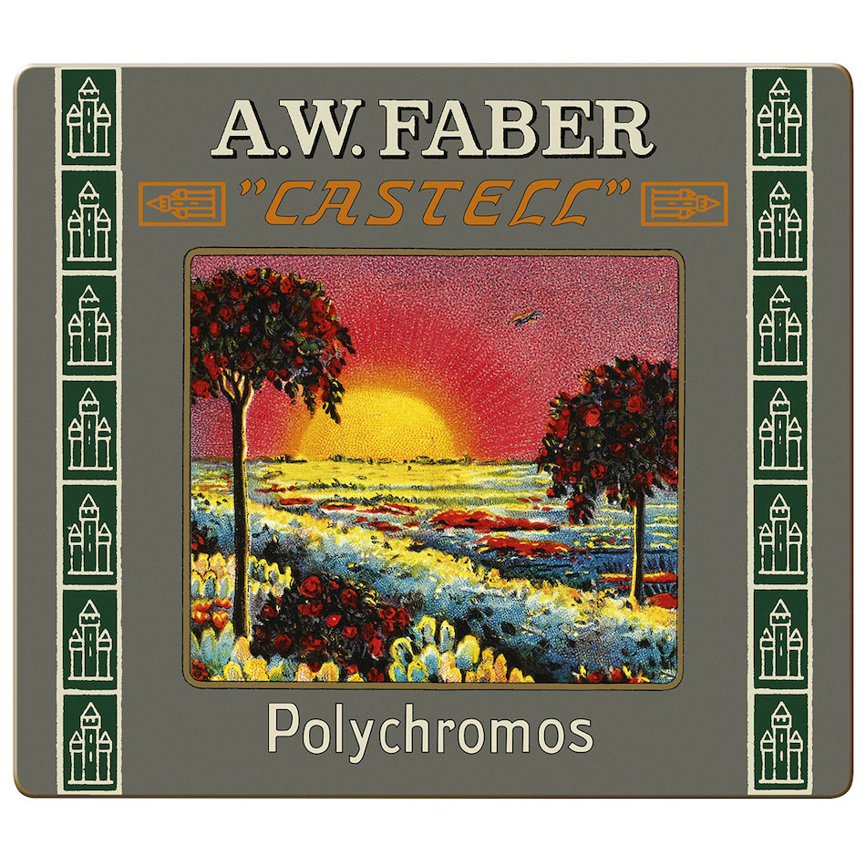 Faber-Castell Polychromos Colouring Pencil 111th Anniversary Set of 24